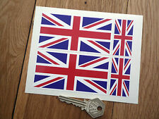 UNION JACK Flag Car Motorcycle STICKER Set Great Britain UK of GB & NI British