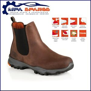 NO RISK NASA - STEEL TOE CAP - PROTECTIVE MIDSOLE -  SAFETY BOOT