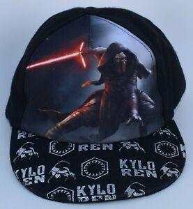 Star Wars Kylo Ren KIDS Baseball Cap Hat One Size Snapback Structured 5-Panel