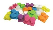 Contact Lens Cases Assorted Colors 12-Pack, Deep Well Flip-top