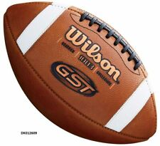 Wilson GST Leather Football Official 14+   FREE SHIP