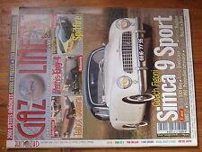 $$w Revue Gazoline N°77 Simca 9 Sport  Talbot Solara  Mathis Emy-4  Triumph Spit