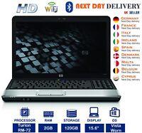 HP G60-215EM 15.6-inch Laptop AMD Turion 2.1GHz 2GB RAM 120GB HDD Vista A Grade