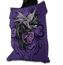 Wild Star DRAGON BEAUTY Fleece Blanket, Officially Licensed Anne Stokes