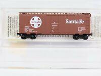 N Scale MTL Micro Trains 21110 ATSF Santa Fe 40' Standard Box Car #149953 RTR
