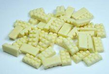 100 Dollhouse Miniature White Chocolate Bars*Doll Mini Tiny Food Candy Wholesale