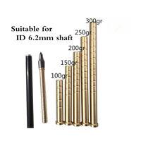 Archery Arrow Insert Copper Brass Bar Weight  for ID6.2mm Arrow Shaft Shooting