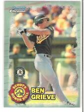 1997 BOWMAN CHROME BEN GRIEVE SCOUT'S HONOR ROLL REFRACTOR