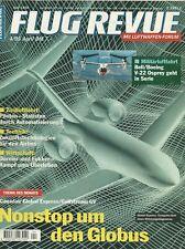 FLUG REVUE 4/1995 - Lockheed C-121 - Lockheed C-130J - Lockheed F-22 - An-70