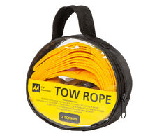 AA Car Essentials 16189 2T Tow Rope 2 Tonne Orange 3.5m Long In Carry Bag Pack