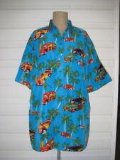 Polyester Regular Size Hawaiian Casual Shirts for Men