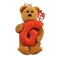 Bear 6 Inch All Star kid! MWMT Ty Beanie Baby ~ SCHOOL ROCKS Hallmark Excl