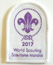 2017 World Scouting Badge- THIS YEAR - nice Scout badge for the collection