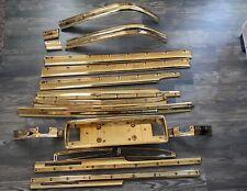 1994 1995 1996 CADILLAC SEDAN TRIM MOULDING OEM FULL SET 24K GOLD PLATED