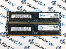 32GB (2x 16GB) DDR3 Hynix HMT42GR7MFR4A-H9 REG ECC - 2Rx4 PC3L-10600R-9-12-E2