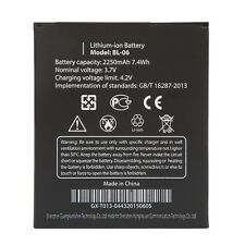 New 2250mAh Battery For BL-06 BL06 BL 06 For THL T6 T6S T6C Li-ion High Quality