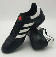 Adidas Men's Goletto Astro Turf Black Football Trainers Boots Shoes Size UK 11 .