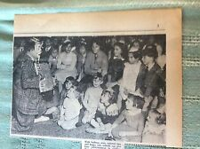 b1-1 ephemera 1962 picture smokey the clown m division police party margate