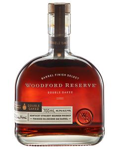 Woodford Reserve Double Oaked Bourbon 700mL Whisky Kentucky bottle