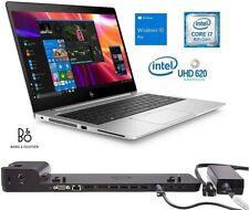 Laptop HP EliteBook 840 G5   CPU i7 8th   RAM 16GB   SSD 256GB + Dockig Station