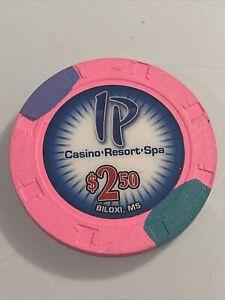 IP CASINO $2.50 Casino Chip Mississippi 3.99 Shipping