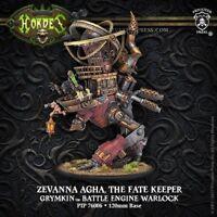 Hordes Grymkin Zevanna Agha Fate Keeper Battle Engine - New