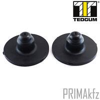 2x TEDGUM Anschlagpuffer Federteller hinten OPEL Astra G H  00504082