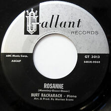 BURT BACHARACH 45 Rosanne / Maybe This Year VG++ Pop INSTR 1965 Gallant w1935