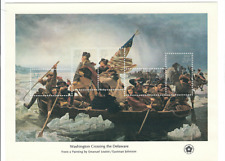 Scott # 1688 ...24 Cents....Washington Crossing Delaware...Sheet of 5 Stamps
