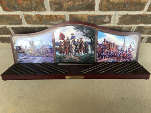 HO Bachmann Hawthorne Village Civil War Armored Train Display Stand Shelf