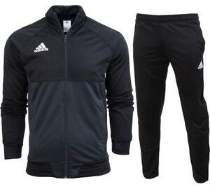 adidas Sport Fußball Tiro 17 Design Profi Trainingsanzug Jogging