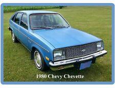 1980 Chevy Chevette Blue Auto Refrigerator / Tool Box Magnet