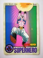 Dragon Ball Z DBZ Cartes Adali série collection Super Hero card part 6 1995 #233