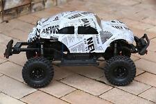 Custom Buggy Body Newspaper Style for Traxxas TRX-4 Trail Crawler Truck Car