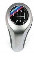 M-POWER BMW E81 E82 E85 E87 E88 POMMEAU LEVIER DE VITESSE 6 VITESSES CHROM