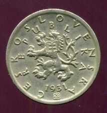TCHECOSLOVAQUIE  50 haleru 1931