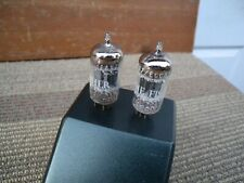 2 pcs. matched pair Fisher by Holland 12ax7/ecc83 great condition w/tested stron