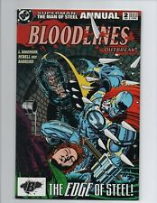 Superman The Man of Steel Annual (1993) Annual #2 Bloodlines Outbreak
