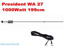 CB FUNK DX Antenne President WA27 5dBi 199cm 1000W 200Kanal für TOP Reichweiten