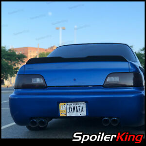 380BC Rear trunk duckbill spoiler w/center cut (Fits: Acura Legend 1991-95 4dr)