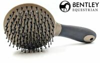Mane and Tail Horse Grooming Brush Equestrian Cleaning Hair Comb Soft Grip
