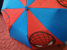 Ultimate Spiderman Umbrella Official Marvel Licensed Kids Childrens Red Blue