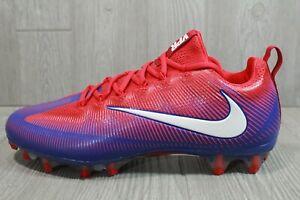 68 Nike Vapor Untouchable Pro Football Cleats Red/White/Blue 925423-404 Sz 11.5
