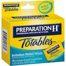 Preparation H Wipe Portable 10ct
