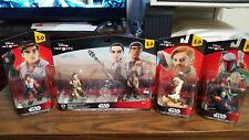 Disney Infinity 3.0 Set of Finn, Rey, Poe Dameron, Obi Wan, and Boba NEW SEALED