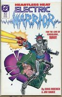 Electric Warrior 1986 series # 6 very fine comic book