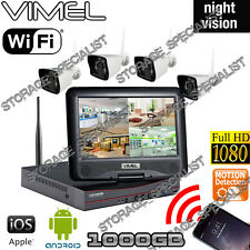 House Security Cameras System 1TB Farm IP CCTV Wireless Farm Remote Phone View