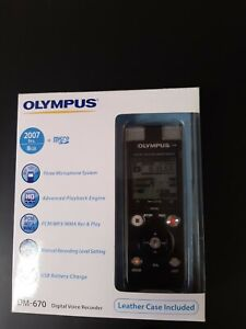 Olympus digiital voice recorder DM 670