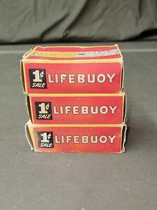WWII Era Lifebuoy Soap 3 Pack