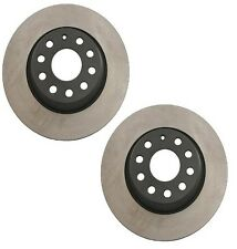 Audi A3 Quattro VW CC Golf 282mm OD Pair Set of 2 Rear Disc Brake Rotors OPparts